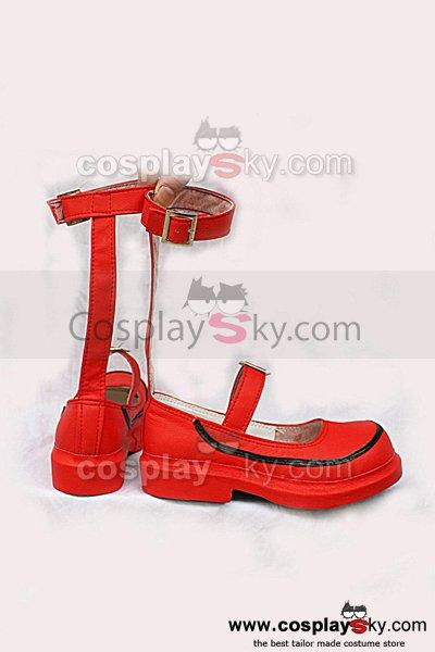 When They Cry 3 Maria Ushiromiya Cosplay Shoes