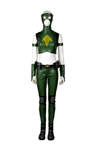 Young Justice Artemis Crock Outfit Cosplay Costume