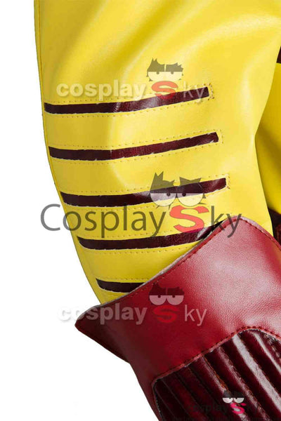 Young Justice Season 2 Kid Flash Outfit Cosplay Costume