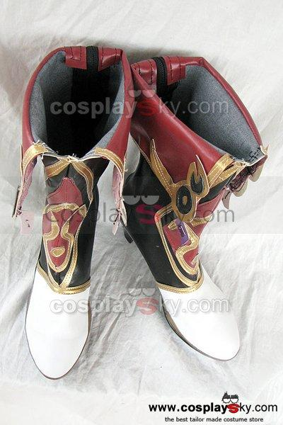 Ys Origin Zava Cosplay Boots Shoes Custom Made
