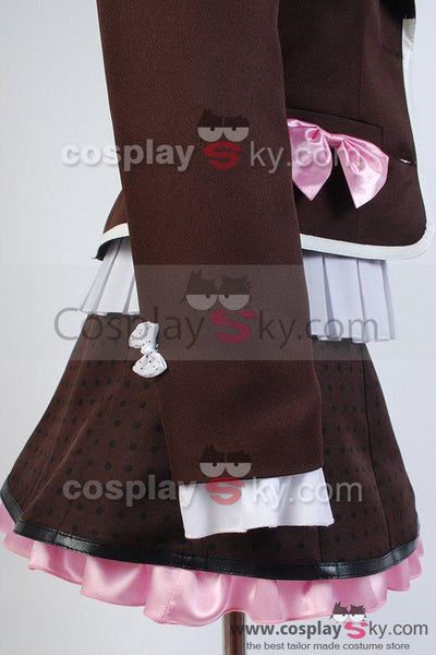 Zettai Zetsubo Shojo: Danganronpa AnotherEpisode Kotoko Utsugi Uniform Cosplay Costume