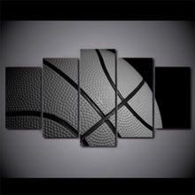 Basketball Printed Canvas - 5 PCs