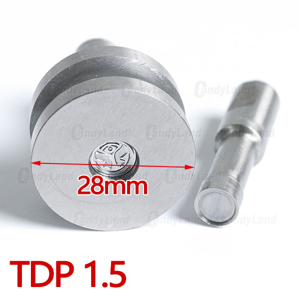FLOWER Shape Pressing Tool Candy Punch Die Set Custom Logo Punch Die Cast Pill Press For Tablet TDP Machine