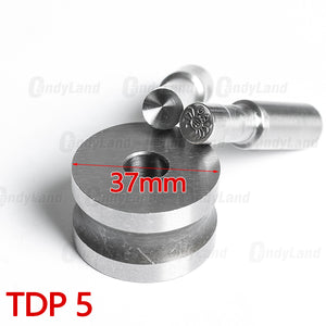 Crab Tablet 3D Punch Mold Candy Punch Die Set Custom Logo Punch Die Cast Pill Press For Tablet TDP Machine