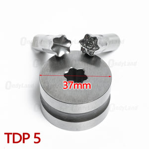 Bitcoin 3D Tablet Punching Mold Candy Punch Die Set Custom Logo Punch Die Cast Pill Press For Tablet TDP Machine