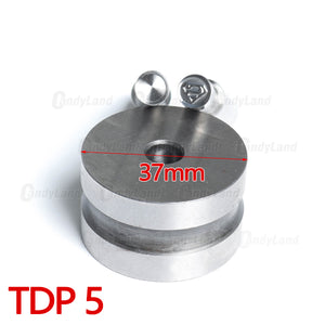Super Man round Tablet 3D Punch Mold Candy Punch Die Set Custom Logo Punch Die Cast Pill Press For Tablet TDP Machine