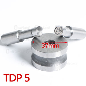 Dragon Punch Tool Milk Tablet Die Candy Punch Die Set Custom Logo Punch Die Cast Pill Press For Tablet TDP Machine