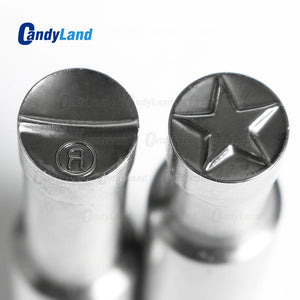 Star Sugar Tablet Press Candy Punch Die Set Tablet Stamper Custom Logo Punch Die Cast Pill Press For Tablet Stamper TDP Machine