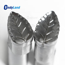 Leaf Tablet 3D Punch Mold Candy Punch Die Set Custom Logo Punch Die Cast Pill Press For Tablet TDP Machine