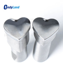 Heart-shaped 3D Tablet Punching Mold Candy Punch Die Set Custom Logo Punch Die Cast Pill Press For Tablet TDP Machine