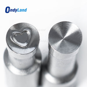 Heart 3D Tablet Die Candy Punch Die Set Custom Logo Punch Die Cast Pill Press For Tablet TDP Machine