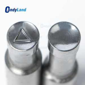 triangle tablet punch die Candy Punch Die Set Custom Logo Punch Die Cast Pill Press For Tablet TDP Machine
