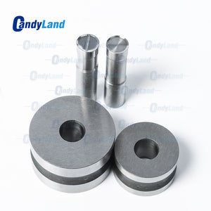 Blank Pill Press Die Candy Punch Die Set Custom Logo Punch Die Cast Pill Press For Tablet TDP Machine