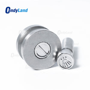 Crown Tablet Pill Press Die Candy Punch Die Set Custom Logo Punch Die Cast Pill Press For Tablet TDP Machine