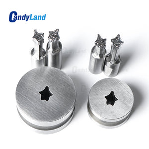 Patrick Milk Tablet Mold Candy Punch Die Set Custom Logo Punch Die Cast Pill Press For Tablet TDP Machine
