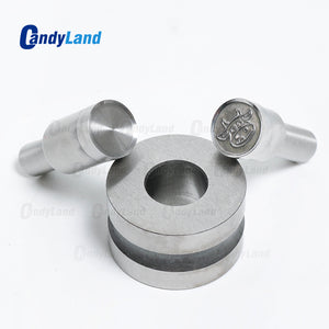 Cow shape Tablet Press 3D Punch Mold Candy Punch Die Set Custom Logo Punch Die Cast Pill Press For Tablet TDP Machine
