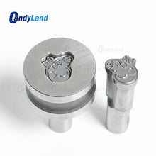Pig 3D Punch Mold Candy Punch Die Set Custom Logo Punch Die Cast Pill Press For Tablet TDP Machine