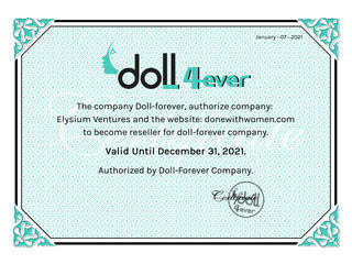 Doll-Forever Certified Vendor