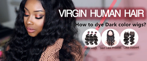 Prosp Hair Shop-The process of dyeing wigs