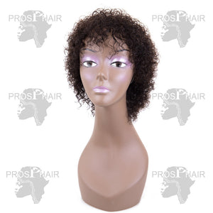 afro curl wigs for black women