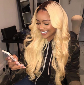 Lace Front Blonde Wigs