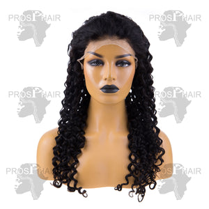 Italian Wave Lace Front  Wig Human Hair  Full Volume