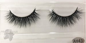AH43 Mink Handmade False Eyelashes