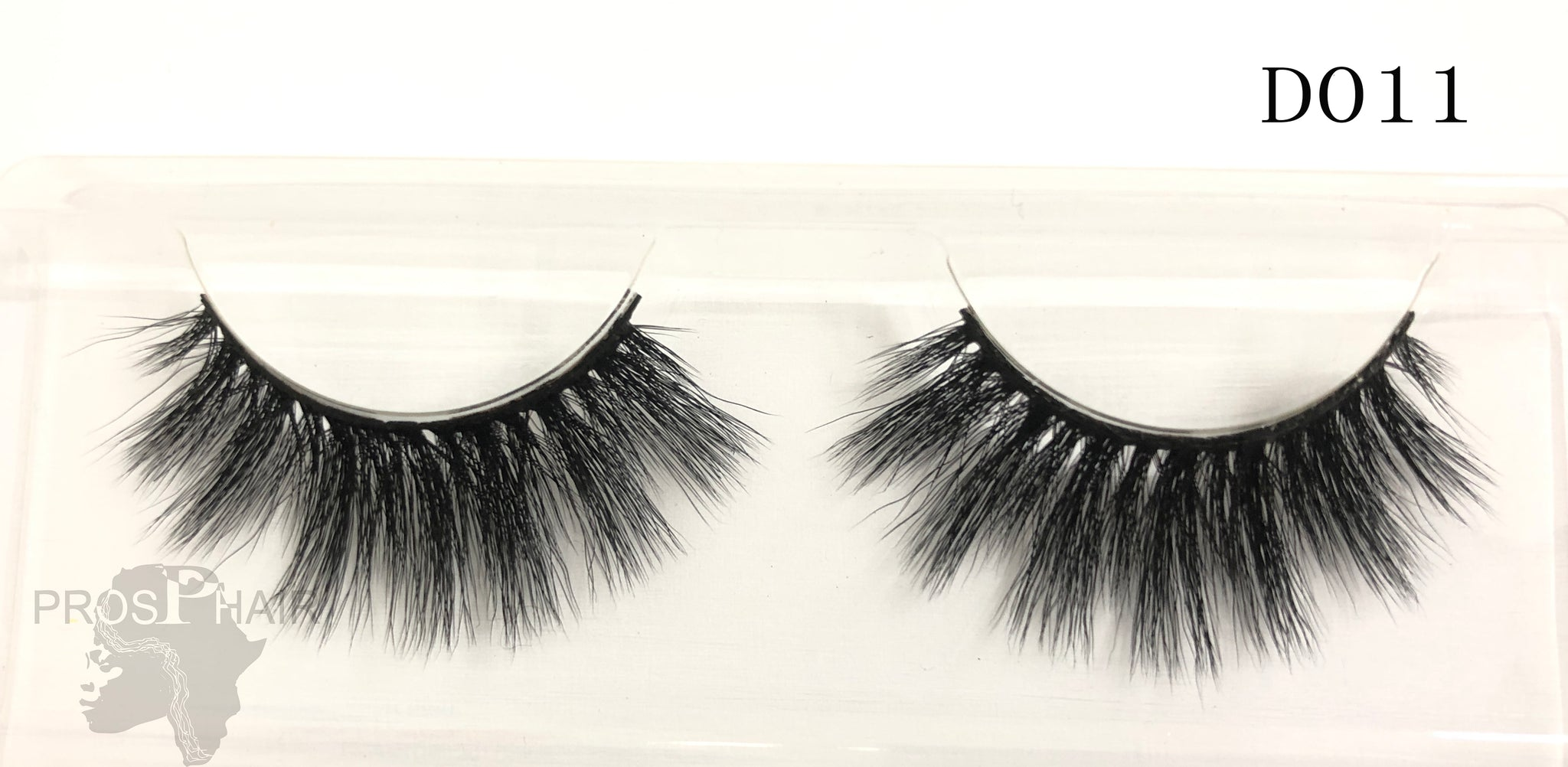 Natural Curl Genuine Siberian Mink Hair Lashes
