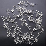 Headband Plant Pearl Inlaid Wedding Hair Accessories