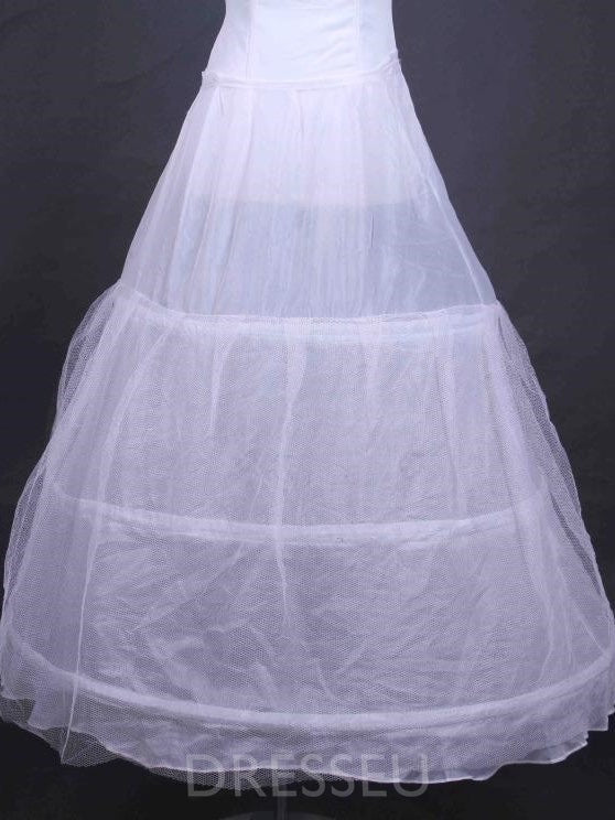 A Line Mesh Wedding Petticoats For Women