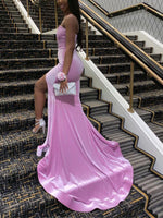 Sweetheart Sleeveless Floor-Length Trumpet/Mermaid Prom Dress