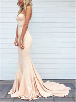 Sweetheart Sleeveless Floor-Length Trumpet/Mermaid Evening Dress