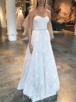 Sweetheart Sleeveless Floor-Length A-Line Hall Wedding Dress
