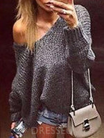 Thin Regular Loose Long Sleeve Sweater