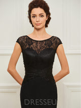 Sheath/Column Lace Floor-Length Mother of the Bride Dress