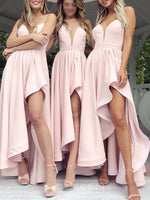 Floor-Length A-Line Sleeveless Spaghetti Straps Bridesmaid Dress