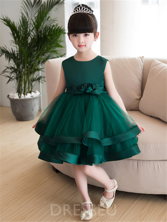 Spring Knee-Length Dress
