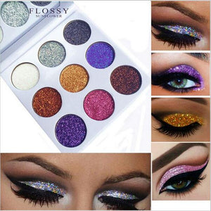 FLOSSY SUNFLOWER 9 Color Pro Eyeshadow Palette