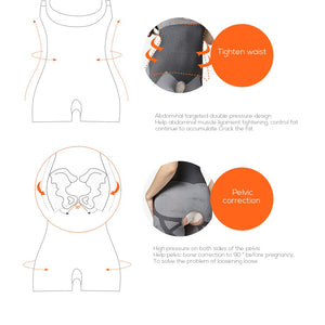 Thermal Bamboo Charcoal Body Shaper