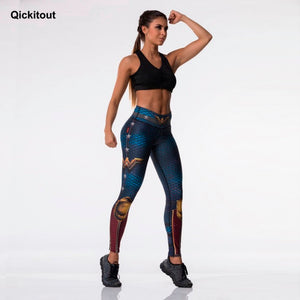 Woman Hero High Waist Leggings