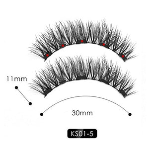 2019 New Hot Magnetic Liquid Eyeliner & Magnetic False Eyelashes & Tweezer Set Waterproof Long Lasting Eyeliner False Eyelashes