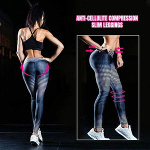 yoyoyoyoga Bottoms S Anti-Cellulite Compression Slim Leggings