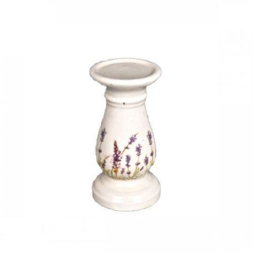 Ceramic Candle Stick with Lavender