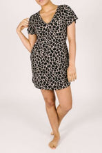 Load image into Gallery viewer, Smash + Tess Sunday Shorty Dress in Lexi Leopard