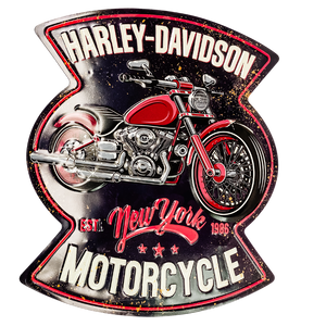 Harley Davidson Tin Wall Sign