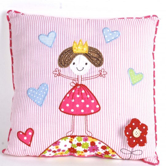 Fairies Accent Cotton Pillow