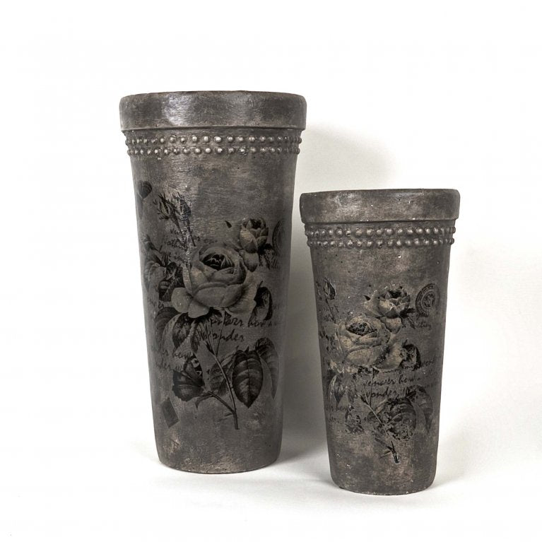 Tall Vases set of 2