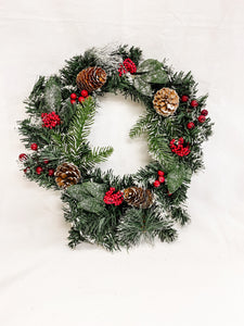 "16"" Hallmark Style Christmas Wreath"