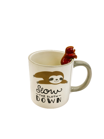 Slow the Sloth Down Mug