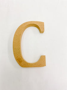 Decorative Wooden Letters